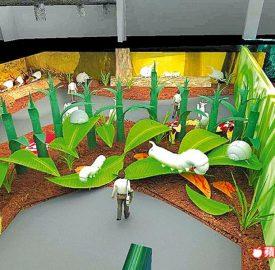 大型主題展 月中登場 極地生態 米飛兔 搶暑假親子遊商機